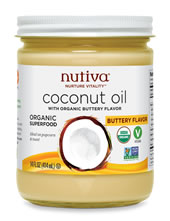 nutiva coconut oil buttery flavor
