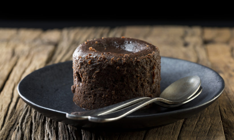 Gluten Free Vegan Lava Cakes for 2