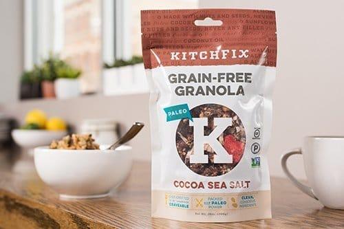 kitchfix grain free granola