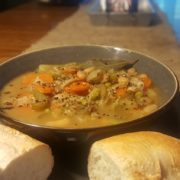 Veggie and Wild Rice Soup