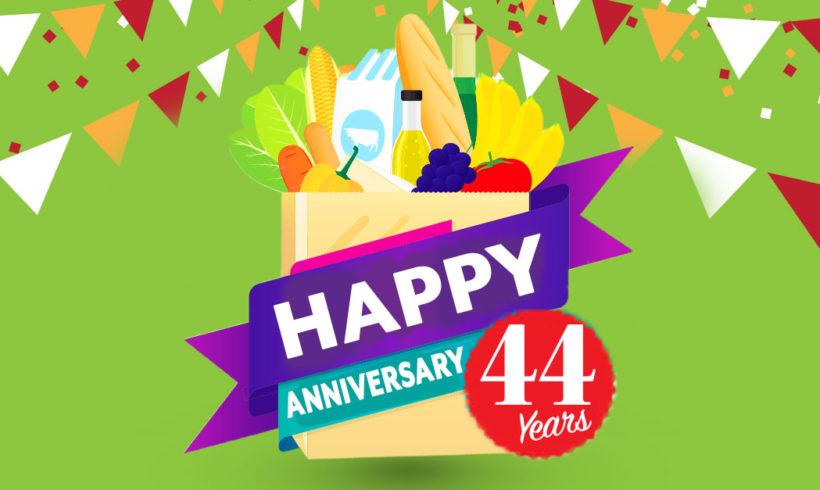 Celebrating #44