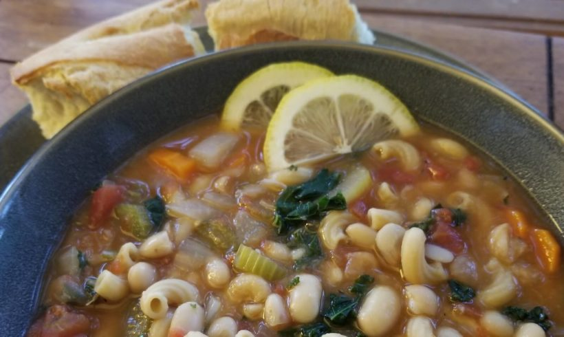 White Bean & Vegetable Soup