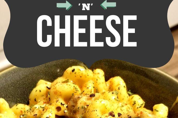 Dairy Free Cavatappi 'n' Cheese