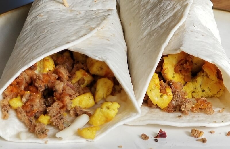 Easy Breakfast Burritos